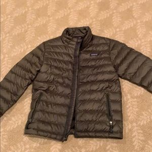 Khaki Patagonia boys jacket